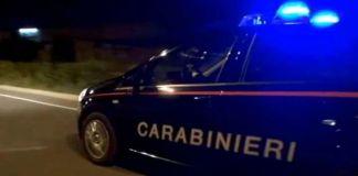 Inseguimento dei carabinieri