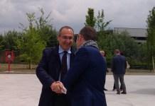 Il presidente di Centro Padane, Scuri