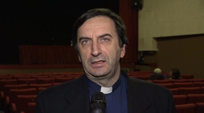 Don Pezzetti, foto da Telepace