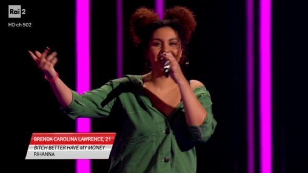 Brenda Carolina Lawrence a The Voice