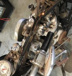 restoring 1973 flh before and after c r engineering harley davidson revesby sydney nsw [ 1024 x 768 Pixel ]