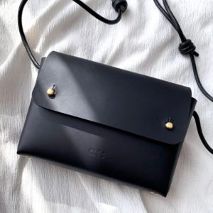ORIANA Matte Black Mini Bag