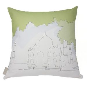 Cityscape Cushion / India