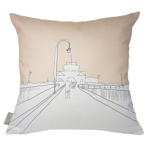 Cityscape Cushion / Melbourne - Cushion Melbourne 500x500