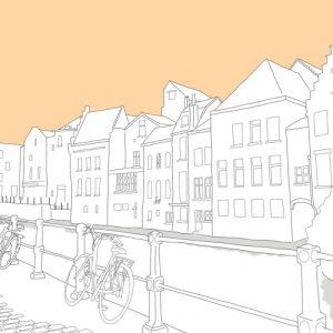 Ghent Print (A3 Frame)