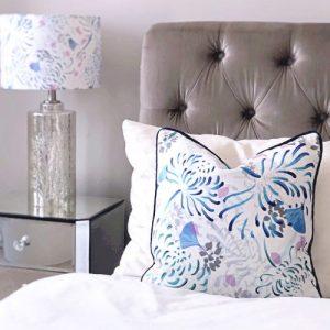 Shimmer Velvet Cushion - Florals - Shimmer Velvet Cushion Florals1 500x500