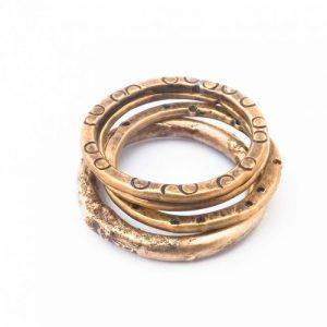 Brass Stacker Ring