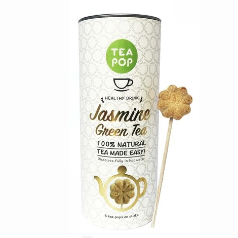 TEA On-A-Stick! / Gourmet Tea / Dissolves In Water (6x canister case)