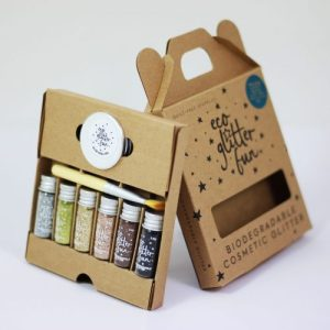 Eco Glitter Fun 6pcs Metallic Boxed Kit