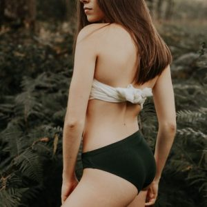 Panties Madame porte la culotte Vert Sapin Green