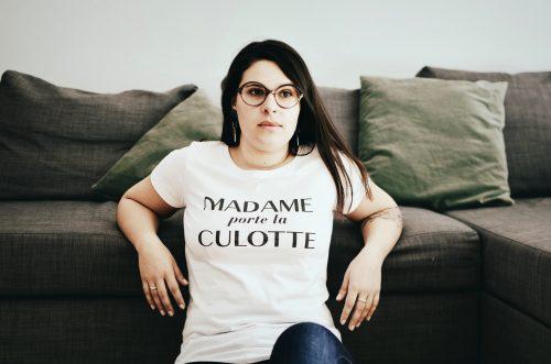 Madame Porte La Culotte Organic Cotton T-shirt