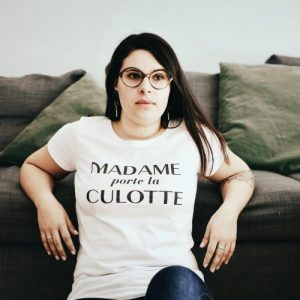 Madame Porte La Culotte Organic Cotton T-shirt - DSC 0926 500x500