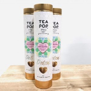 DETOX Green Tea-Pops / 8 pops tube
