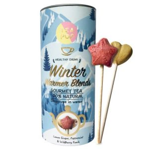 TEA On-A-Stick! Winter Warmers / Gourmet Tea / Dissolves In Water (6x per Case)