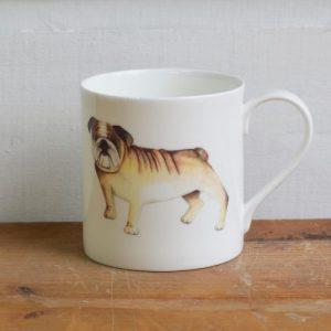 British Bulldog Fine Bone China Mug