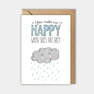 Love card: You make me happy