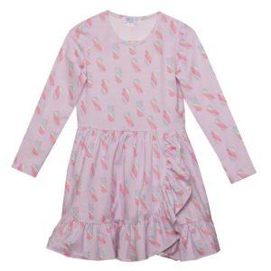 Cathy Dress Pink Marshmallow