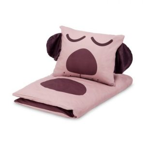 Duvet Cover Set Dog Baby (Rose)