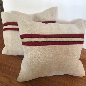 Vintage Hemp Pillow by Ethnicloom
