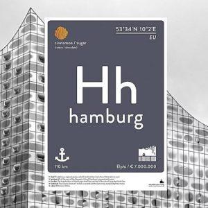 Hamburg Print Poster/Postcard