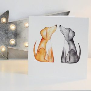 Labrador Greetings Card
