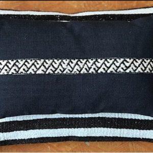 Mini Hemp Fragment Pillow by Ethnicloom - Mini Hemp Fragment Pillow 500x393