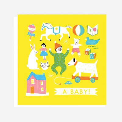 wholesale gifts uk new baby card