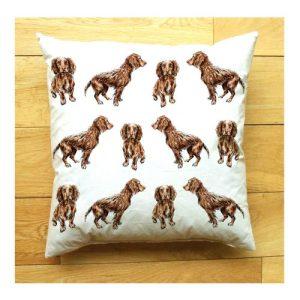 Cocker Spaniel Medium Cushion | Handmade and Designed by Gemma Keith