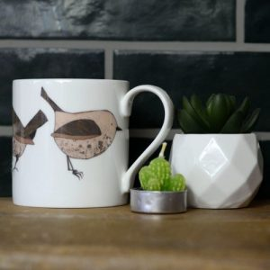 Wren Fine Bone China Mug