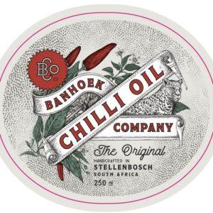Banhoek Chilli Oil 100ml gift travel size 3 pack