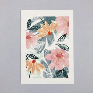 Pretty Florals A4 Print - CHP053 A4 Pretty Florals 500x500