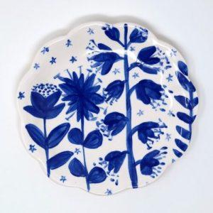 Evening Bloom Plate 15 cm