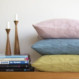 Herdis Knit 100% Brushed Cotton Pillow Cover - Herdis pillows teakbench 300 500x500