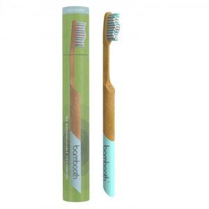 Bamboo Toothbrush – Aqua Marine (Medium)
