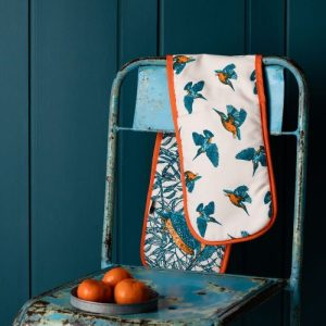 Kingfisher Oven Gloves
