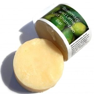 Rosemary Lime Shampoo Bar-70g- Vegan- Palm Free- Sulphate Free- Natural- Sustainable- Essential Oil- All hair Types- Curly Hair- Plastic Free