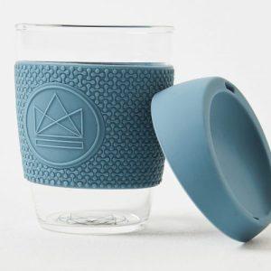 Neon Kactus Reusable Glass Coffee Cup – Super Sonic 12oz