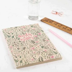 B5 Thistle Notepad