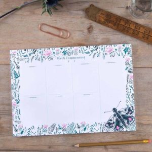 Thistle and Butterfly Weekly Planner