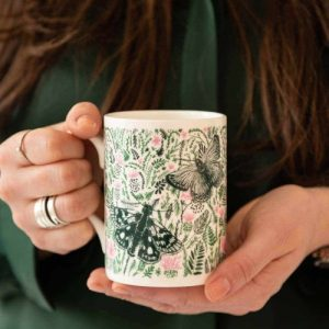 Thistles and Butterflies Mug
