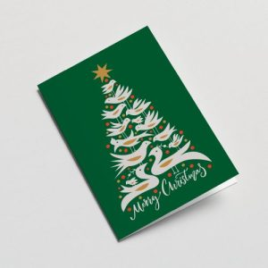 Christmas Greeting Card ( Green )
