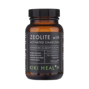 Zeolite With Activated Charcoal 100 Vegicaps