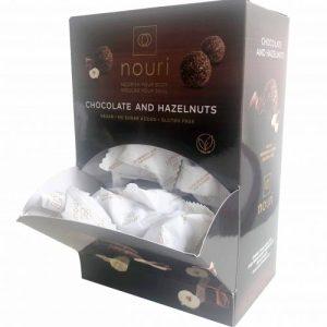 Vegan Chocolate & Hazelnuts (box of 100 truffles)