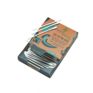 Organic Fairtrade Cotton Buds - eco living buds 1 500x500