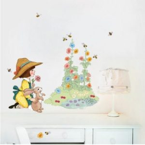 Decorate Me Bumble Bee Wall Stickers - garden1 500x500