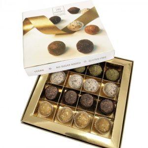 Vegan Luxury box of 16 truffles