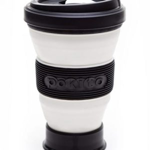 Reusable Collapsible Coffee Cup - Blackberry - pokito cup blackberry black 500x500