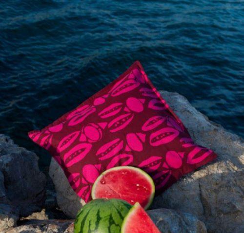 Cushion Winnie Bordeaux