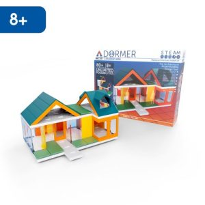 Mini Dormer Colours 2.0, Kids Architect Scale Model House Building kit from Arckit