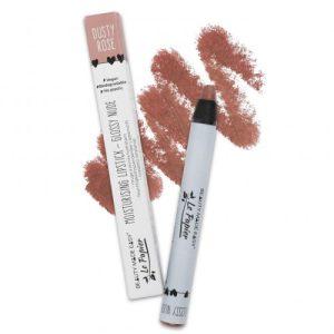Moisturizing lipstick – Glossy Nudes – DUSTY ROSE – 6 g. Vegan